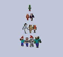 Christmas Tree MineCraft by pireX