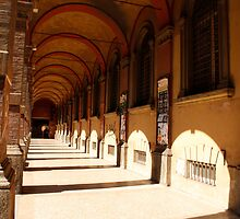 The porticos of the old city by RedBicycle