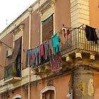 Wash Day Catania by Francis Drake
