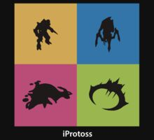 iProtoss - white text by SCshirts