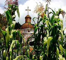 Church Of The Corn by Al Bourassa