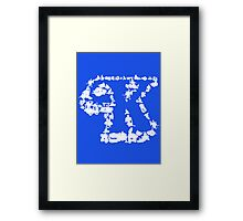 Kennerverse - Collect Them All! Framed Print
