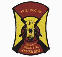 NCR 1st Recon Sticker by clintGH