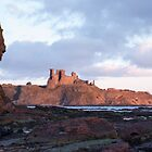 Tantallon sunrise by Christopher Cullen