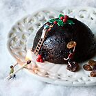 Christmas pudding work man by Bitesized