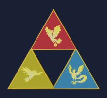 Kanto's Legendary Triforce 2.0 by LevelB