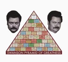 Swanson Pyramid of Greatness by TAllan15
