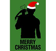 Daryl Dixon Christmas Design (Dark) Photographic Print