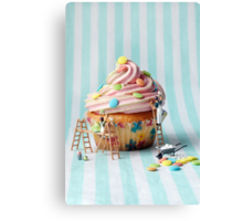 Building better birthday cakes Canvas Print