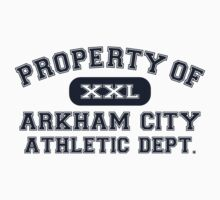 Property of Arkham City Batman T Shirt by xdurango