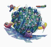 Mario and Luigi: Dream Team Luiginary Ball by TransSilver