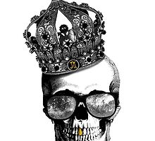King skull by UnknownGraphist