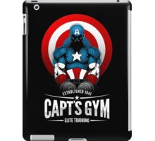 Capt's Gym iPad Case/Skin