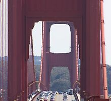 Golden Gate Bridge - San Francisco by leedgreen