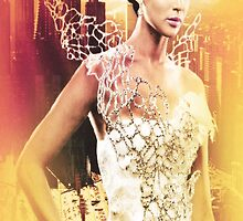 Katniss Everdeen Girl On Fire by itsythepixie