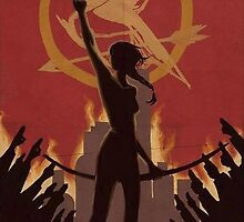 Katniss Everdeen The Mockingjay by itsythepixie