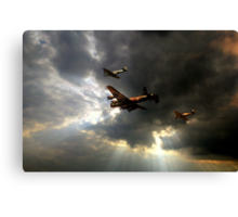 The Royal Air Force Battle of Britain Memorial Flight  Canvas Print