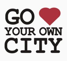 Go heart your own city Kids Clothes