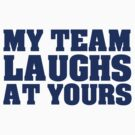 My team laughs at yours by digerati