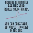 Oblique asymptotes are like your really good friends; by astr0nomer