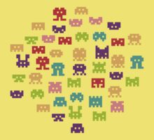 8 bit monster by Budi Satria Kwan