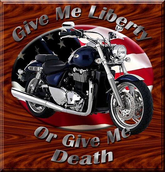 Triumph Thunderbird Give Me Liberty by hotcarshirts