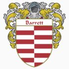 Barrett Coat of Arms/Family Crest by William Martin
