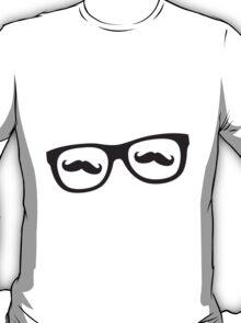 Hipster Glasses Mustache T-Shirt