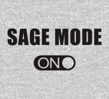 Sage Mode On (Black) by PT Chen