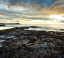 Black Beach Rock Pool by Dilshara Hill