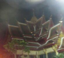 Koh Samui's Plai Laem Wat - night shot by DAdeSimone