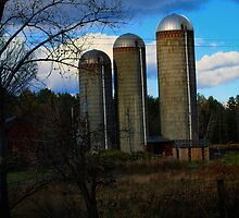Three Sister Silos by Nazareth