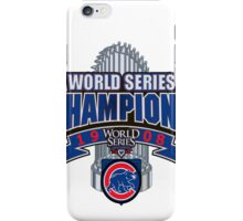 Chicago Cubs World Series iPhone Case/Skin