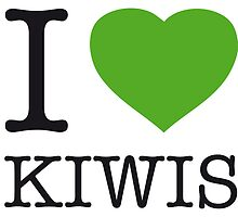 I ♥ KIWIS by eyesblau