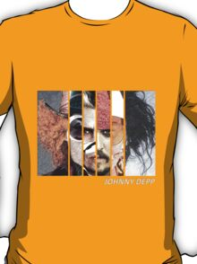 Johnny Depp Characters T-Shirt
