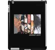 Johnny Depp Characters iPad Case/Skin