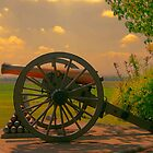Civil War Cannon at Gettysburg by Dyle Warren