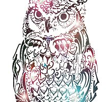 Funky Owl by Lisa Pike