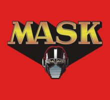 80's Cartoon Mask logo by hotanime