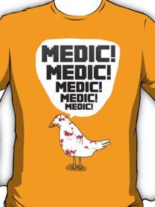 TF2 pigeon - MEDIC! T-Shirt