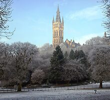 Glasgow University by Escocia Fotographica