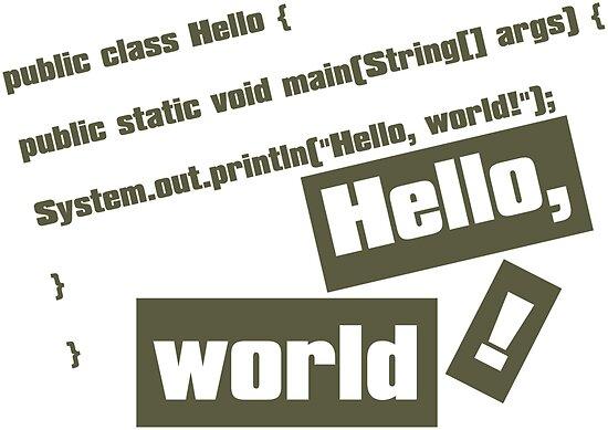 Hello, World! by auraclover