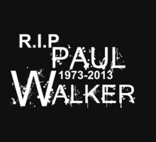 RIP Paul Walker  by mike desolunk