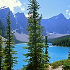 Moraine Lake, Alberta by Alex Cassels