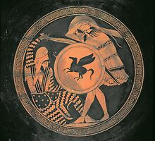 Red Figure Kylix by Bridgeman Art Library