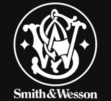 SMITH AND WESSON logo black by Ritchie 1
