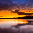 Lake Lanier Sunset II by Bernd F. Laeschke