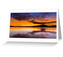 Lake Lanier Sunset II Greeting Card