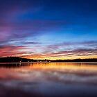 Lake Lanier Sunset I by Bernd F. Laeschke