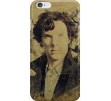 Sherlock Holmes (Benedict Cumberbatch) iPhone Case/Skin